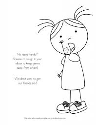 educational coloring pages for kids no more spreading germs coloring pages for kids kids colouring