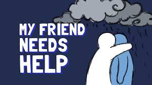 help suicidal friend christian