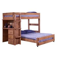 Utica Twin Over Full Loft Bunk Bed With Storage Stairs Bedding - Full loft bunk beds