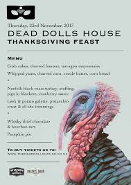 hen house thanksgiving dinner thanksgiving feast the dead dolls house the dead dolls house