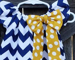 navy chevron dress etsy