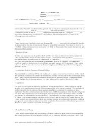 simple rental contract template create professional