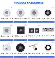 Adjustable Recessed Downlights Zhongshan Meisun Lighitng Technology Co Ltd Led Downlight Led