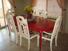 Redo Kitchen Table by Ode To Secondhand Refinished Kitchen Table And Chairs Napoleon