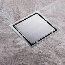 Bathroom Shower Drains Tile Insert Square Floor Waste Grates Bathroom Shower Drain 150 X