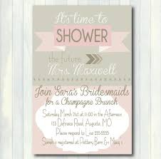 bridesmaid luncheon invitation wording brunch bridal shower invitations plumegiant