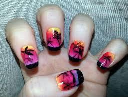 nail art palm tree nail design palmeras youtube