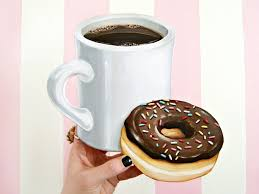 cuisine plaque coffee and donut wall plaque frankie magazine