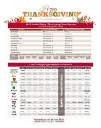 thanksgiving hours 2015 stanford r de