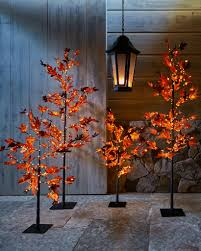 outdoor led autumn maple tree balsam hill