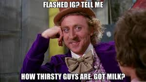 Thirsty Guys Meme - no labels unleashed january 2013