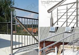 outdoor stair railings price outdoor metal stair railing
