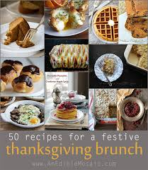 50 recipes for a festive thanksgiving brunch jpg