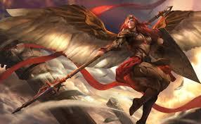 adkarna valkyrie wallpaper heroes of newerth lore