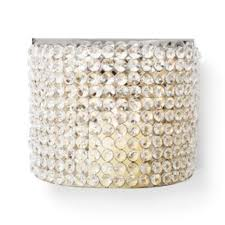Crystal Wall Sconces by Bling Beaded Crystal Candle Sconce Candle Wall Sconces With