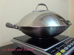Cooker For Induction Cooktop Heart And Hearth Woks Induction Cooker And Prawns In Tamarind Soup