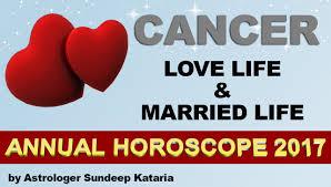 2017 horoscope predictions cancer 2017 love life u0026 married life annual horoscope astrology