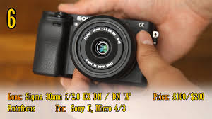 budget low light camera 10 fantastic low budget lenses for mirrorless cameras 4k shooters