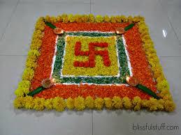 Interior Design With Flowers Decor Rangoli Decoration With Flowers Rangoli Decoration With