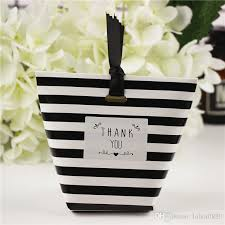 black and white striped gift bags spot candy paper bag black striped small small