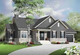 bungalow house plans with basement plan of the week just right sized bungalow drummond house