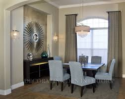 contemporary dining room decorating ideas how to decorate a recessed wall niche in your dining room