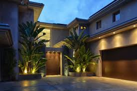 modern outdoor lighting for dramatic exterior appearance ruchi