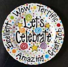 celebrate plate this celebration plate use whenever someone in the family