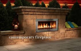 Stone Fireplace Kits Outdoor - outdoor fireplaces u0026 kitchens bars u0026 grills fire rings tables
