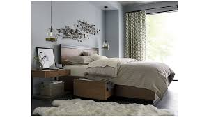 blair queen storage bed crate and barrel