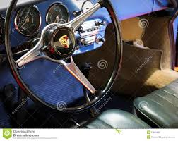 vintage porsche steering wheel editorial stock image image 52667649