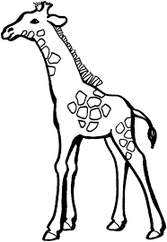 printable giraffe coloring pages for kids page images