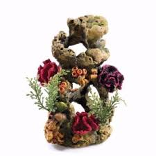 orb coral ornament pets at home
