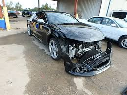 damaged audi for sale auto auction ended on vin wuaw2afc7en901553 2014 audi rs7 in fl