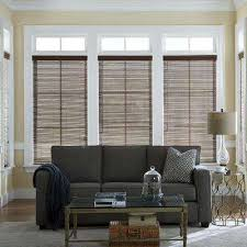 Home Decorators Collection 2 Inch Faux Wood Blinds Chestnut Faux Wood Blinds Blinds The Home Depot