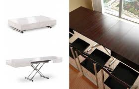 Space Saver Dining Table And Chairs Table With Hidden Chairs Best 25 Space Saver Dining Table Ideas On