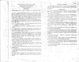 new york state physics regents exam 1903 the 178th examination