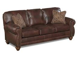 Best Loveseat Best Home Furnishings Noble Stationary Leather Sofa With Nailhead