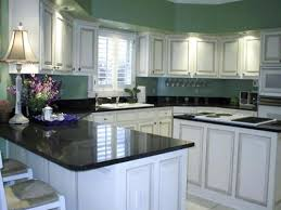 Kitchen Paint Ideas With White Cabinets Black Granite Countertops And White Cabinets Everdayentropy Com
