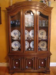 Vintage China Cabinets Furniture Decorative China Hutch For Your Dining Room Furniture