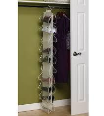 shoe rack hanging canvas 20 pocket hanging shoe rack in hanging shoe organizers