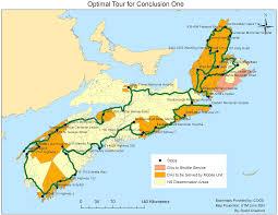 Canada Population Density Map by Webreport