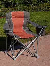 Patio Furniture For Big And Tall by 1 000 Lb Capacity Heavy Duty Portable Chair Orange Sports