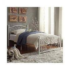 Antique Twin Headboards by Liberty Furniture Vintage Twin Metal Headboard In Distressed White