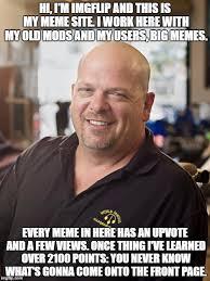 Meme Rick - rick harrison meme generator imgflip