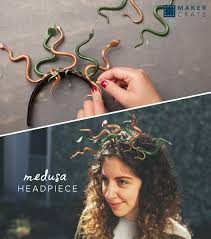 medusa costume spirit halloween medusa headpiece medusa headpiece halloween diy and medusa