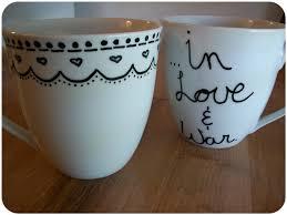 diy sharpie mug the yarn to tell