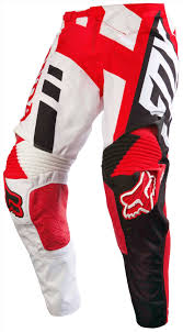 white motocross gear racing pants revzilla red white mx jersey freestylextreme fox
