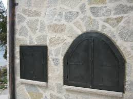 Arched Fireplace Doors by Doors
