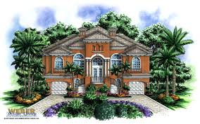 dos palmas home plan weber design group